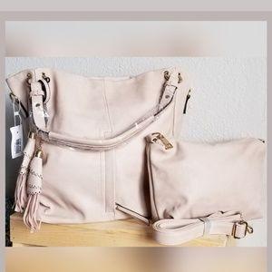 Ivory Trendy Handbag